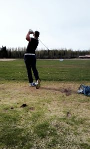 Juho Botnia golfissa